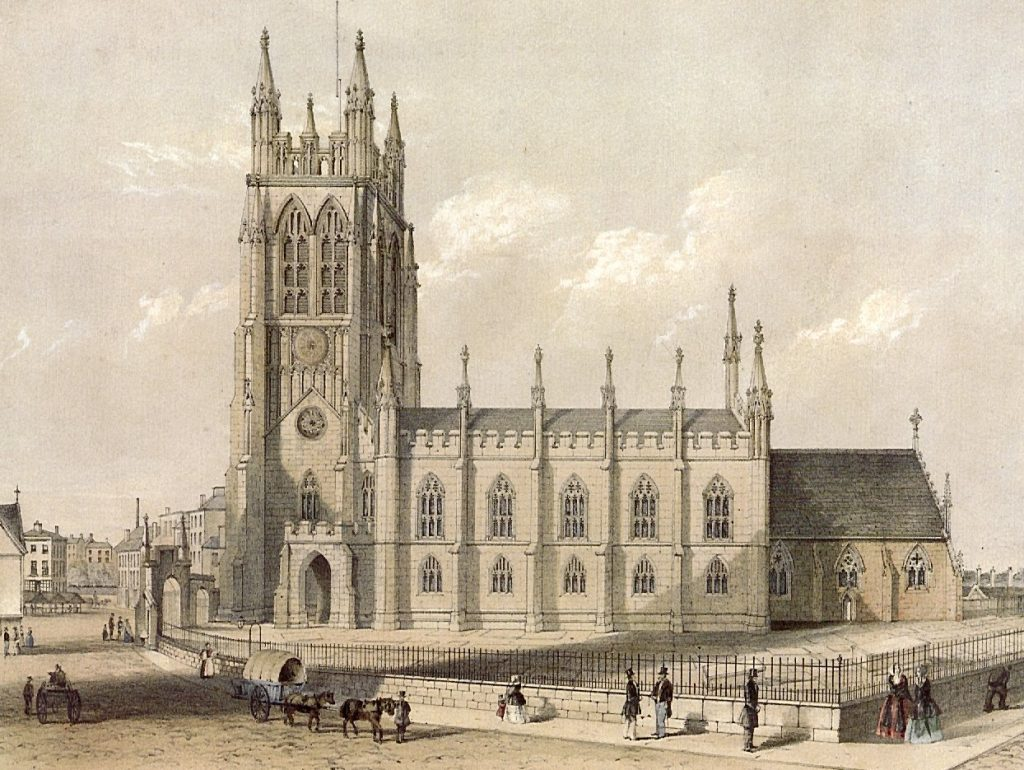 St Mary's in 1850
