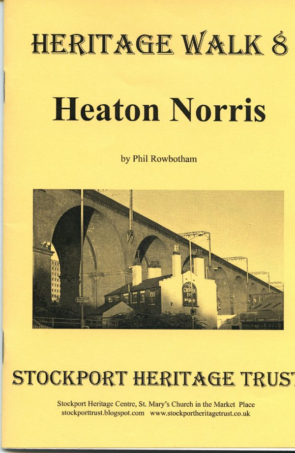 Yellow front cover of the walk booklet