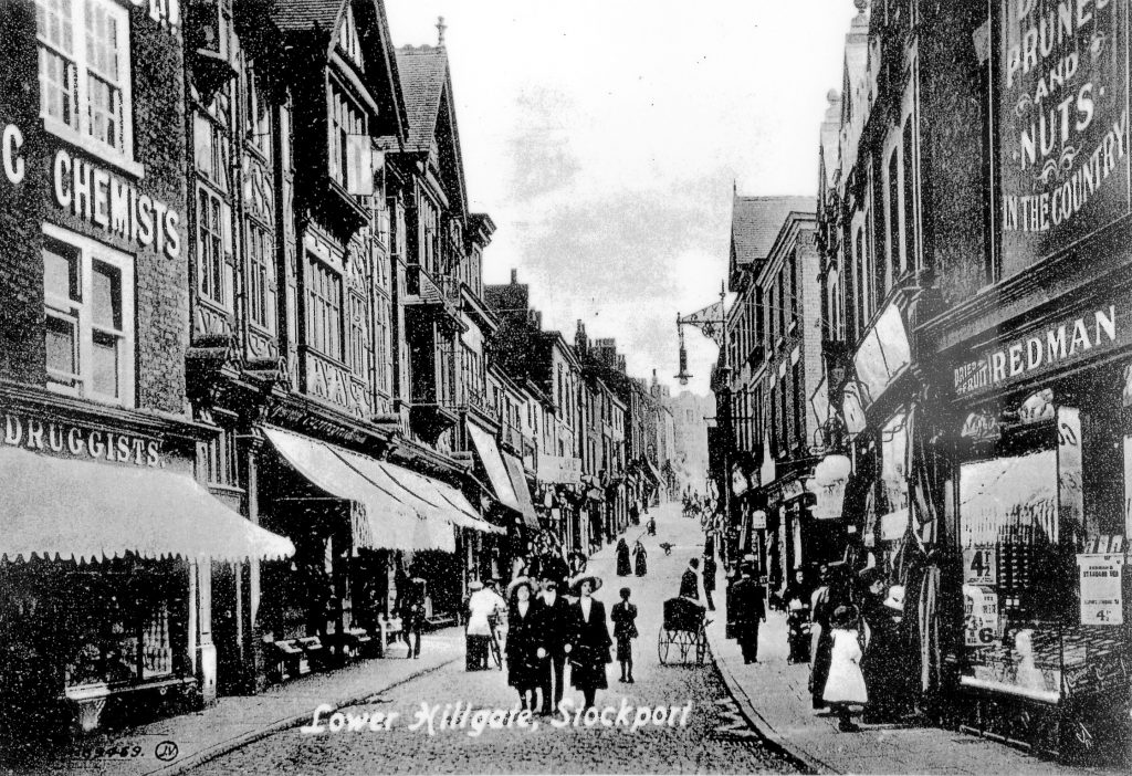 Lower Hillgate in the early 20th Century