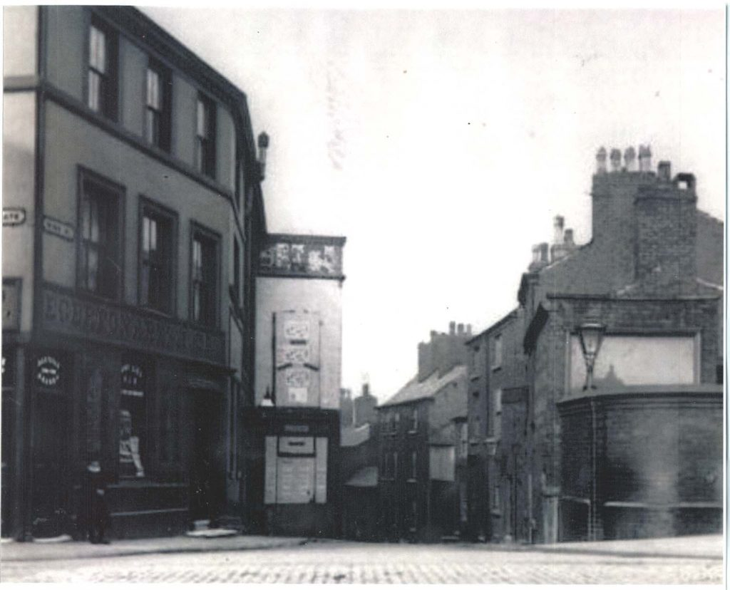 The Egerton on St. Petersgate in the late 1800s